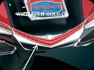 ENJOLIVEUR CHROME  DE BAS DE PARE-BOUE ARRIÈRE GOLDWING 2012