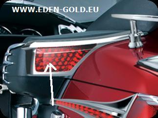 ENJOLIVEURS CHROMES  POUR ARRIÈRES HP GOLDWING 1800